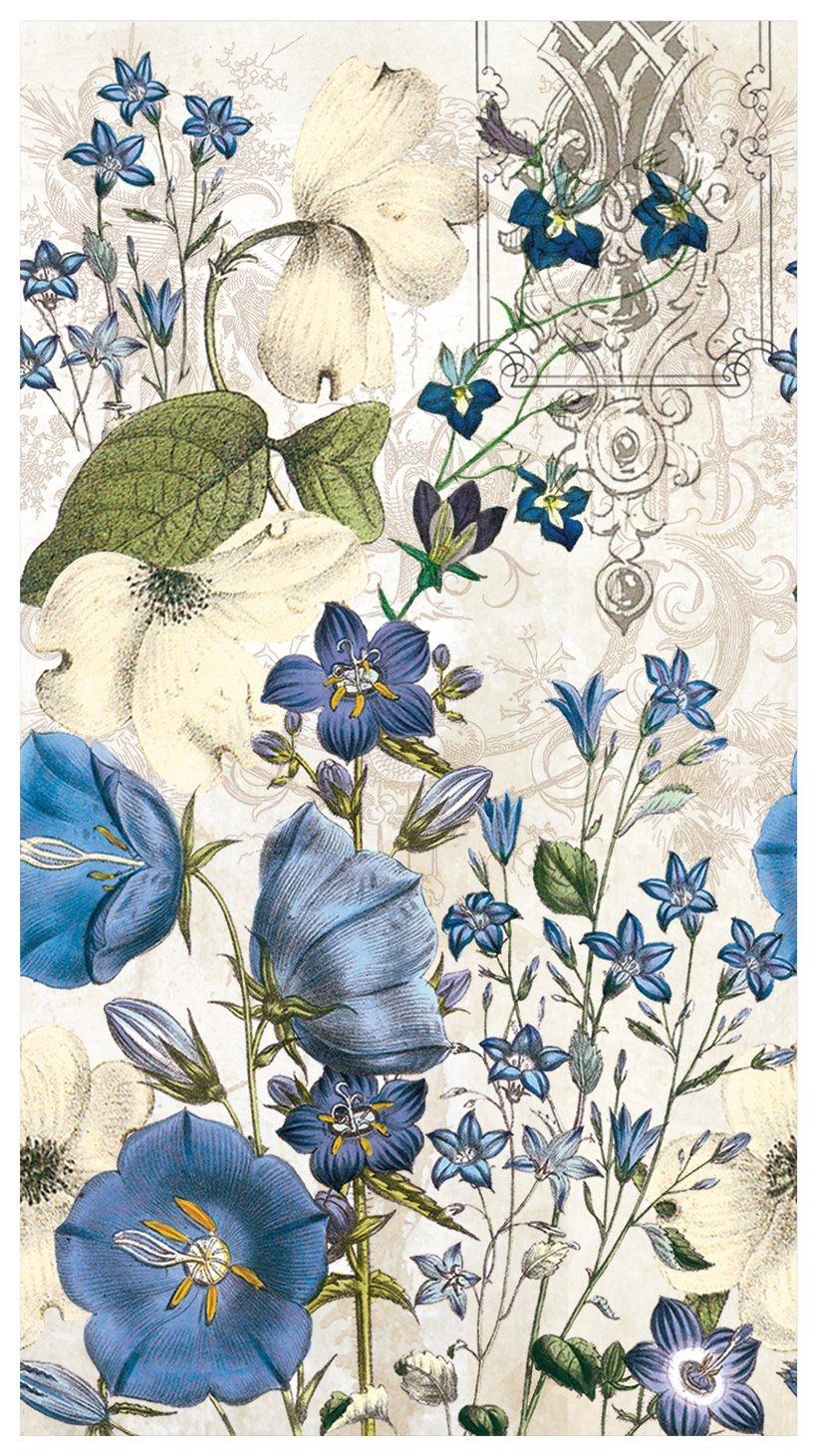 Michel Design Works Blue Meadow Servietten Hostess Napkins