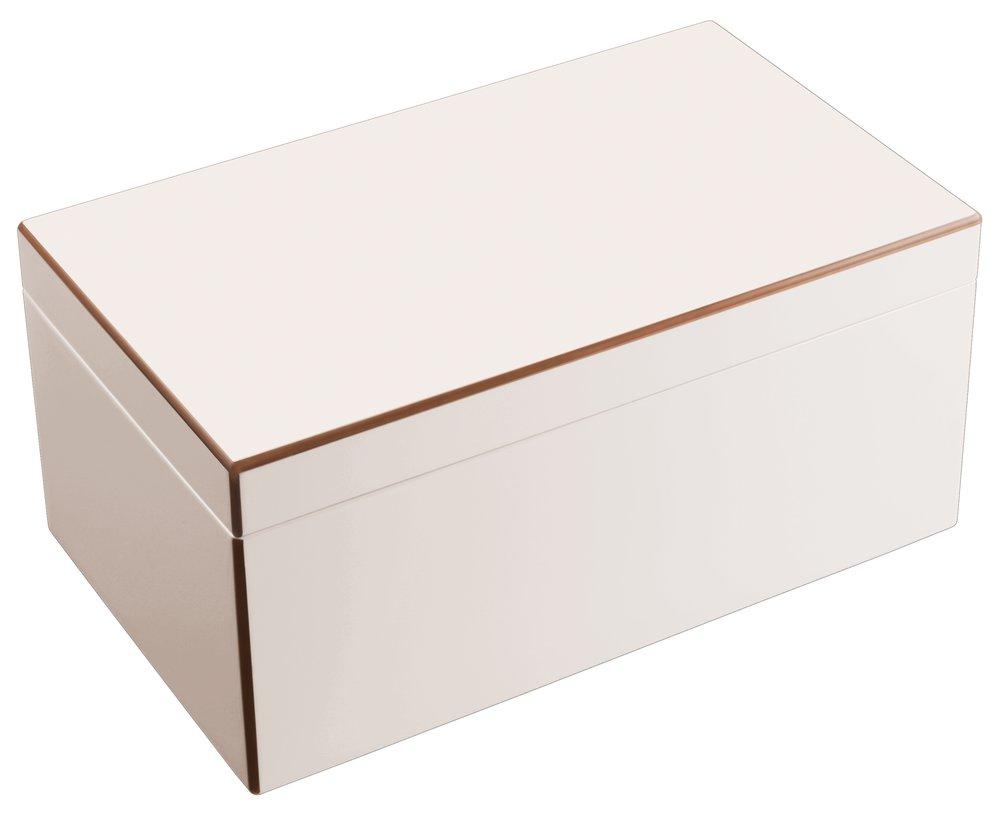 gift company tang schmuckbox mit spiegel schmuckkasten schmuckkoffer weiss ladybutler design. Black Bedroom Furniture Sets. Home Design Ideas