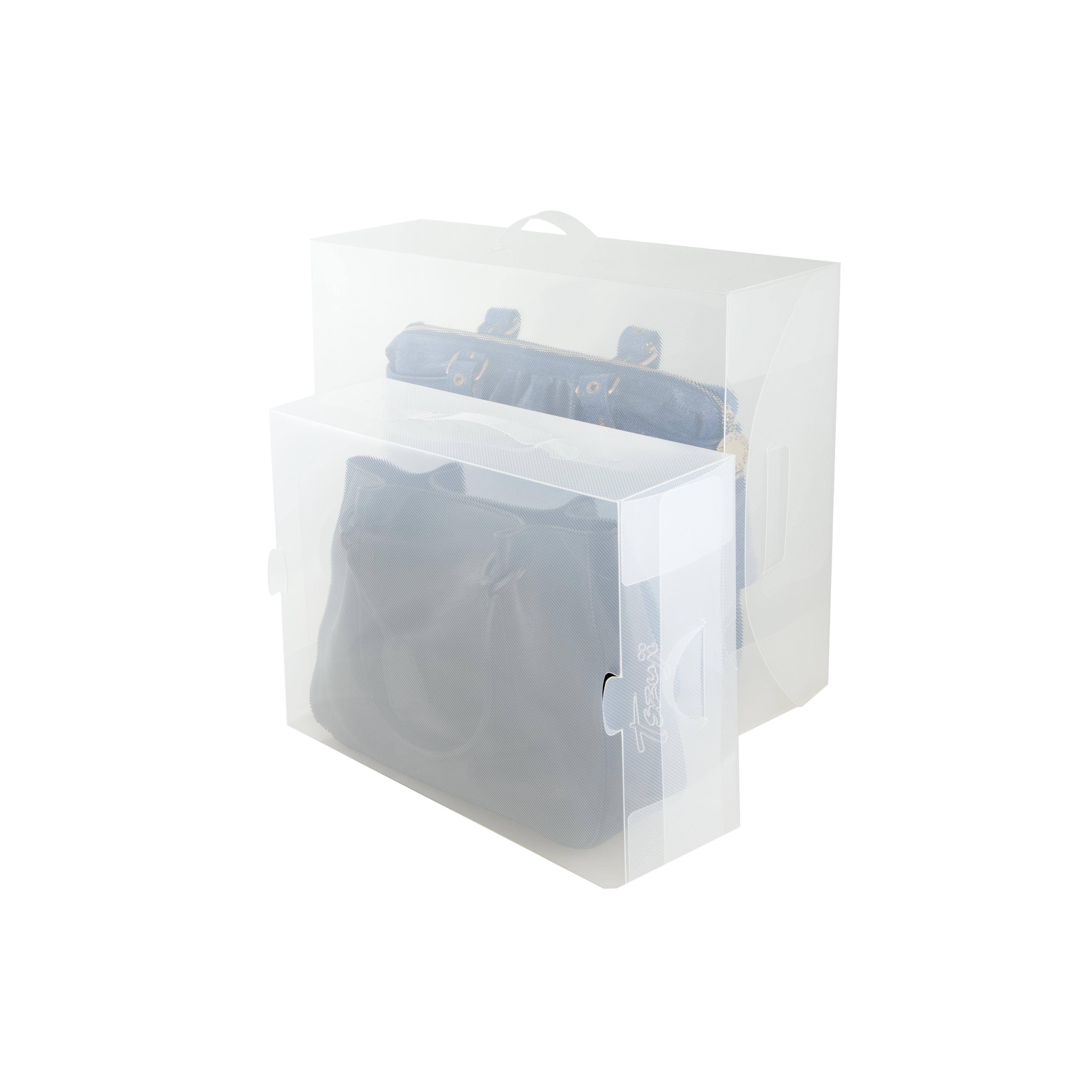 Ladybutler Durchsichtige Handtaschen Box Gro